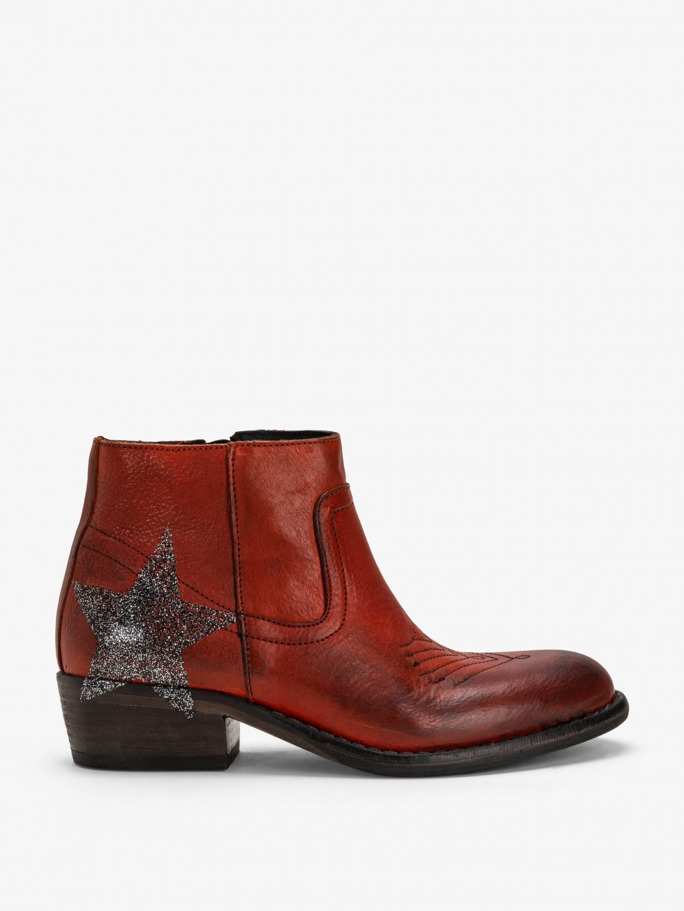 Mojito Boots Sparkle Rust - Star