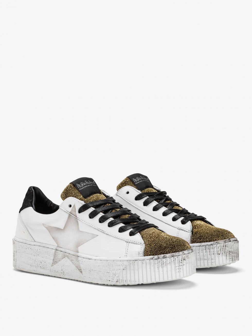 Cosmopolitan Sneakers - Glam Gold Star