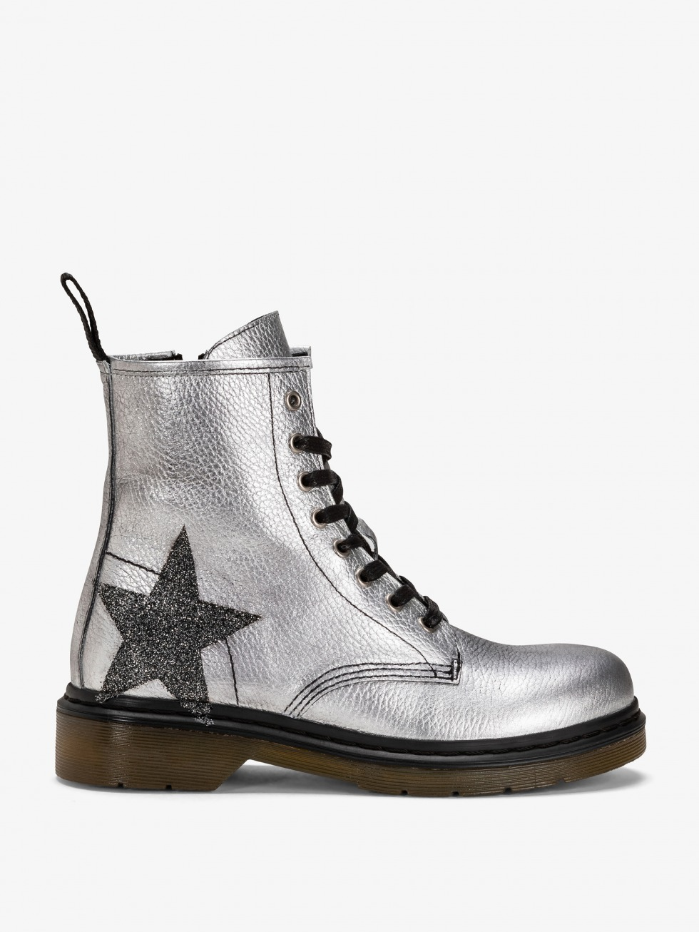 Bloody Mary Boots - Space Glitter Star