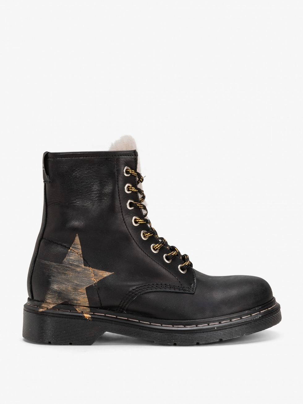 Bloody Mary Boots Shearling  - Star