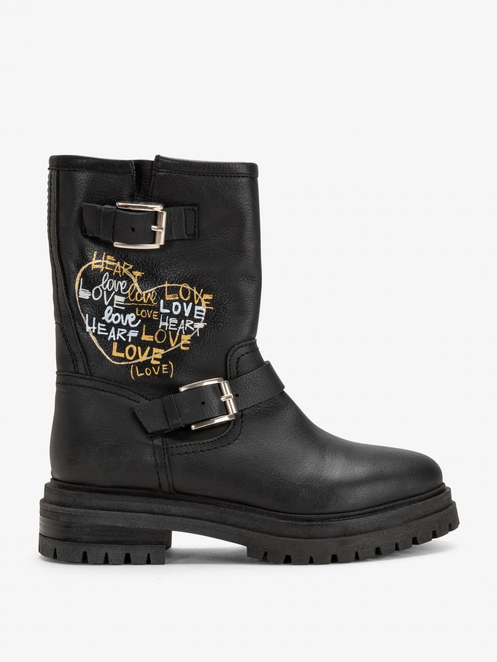 Sidecar Boots - Heart Raven Writer