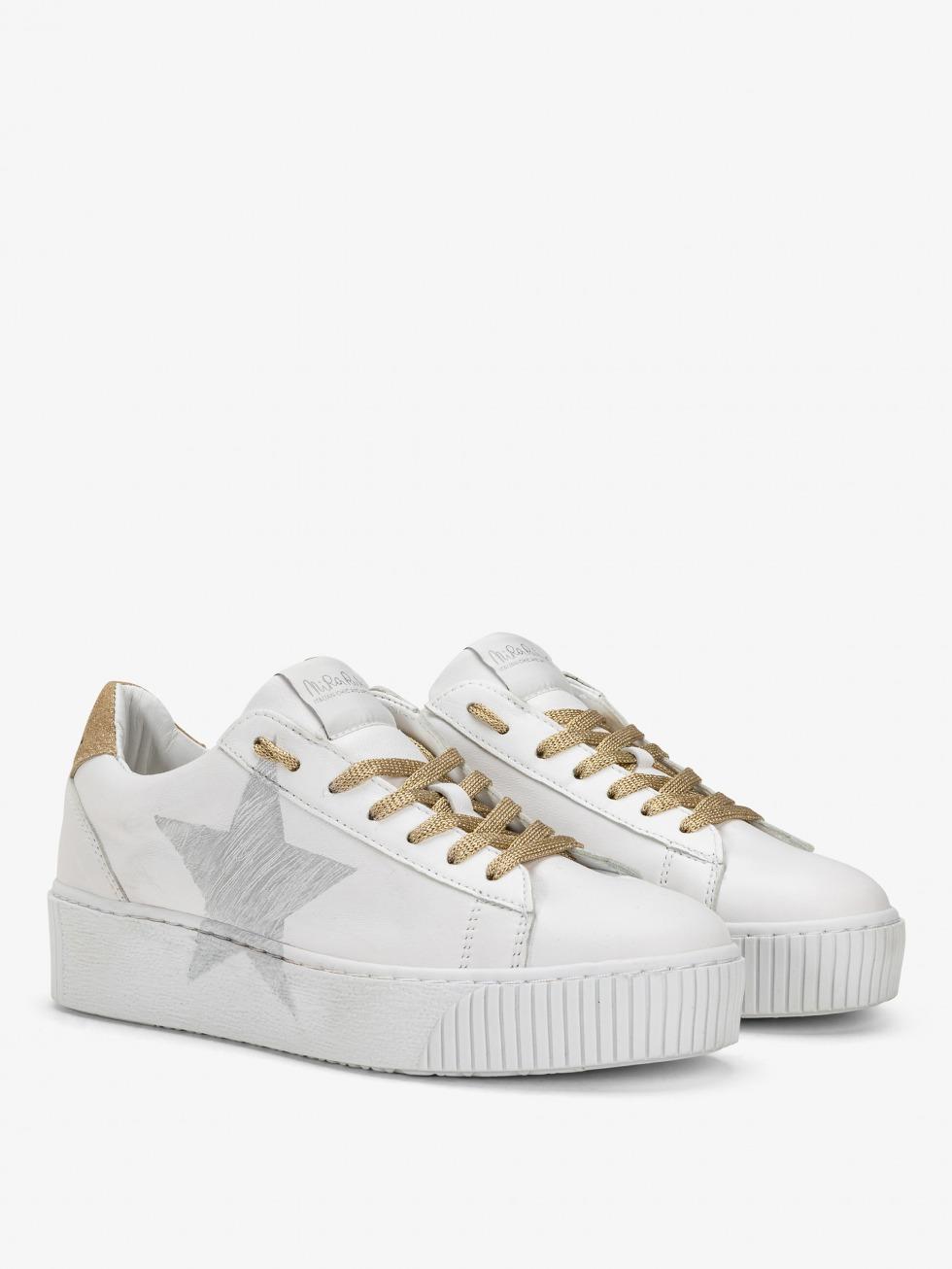 Cosmopolitan Sneakers - Luxury Gold Star