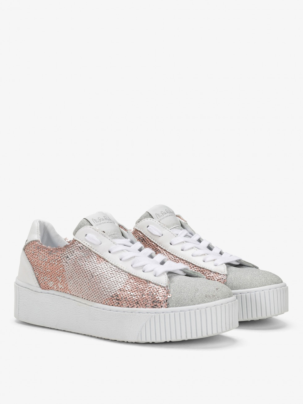 Cosmopolitan Sneakers - Sparkle Pink Heart