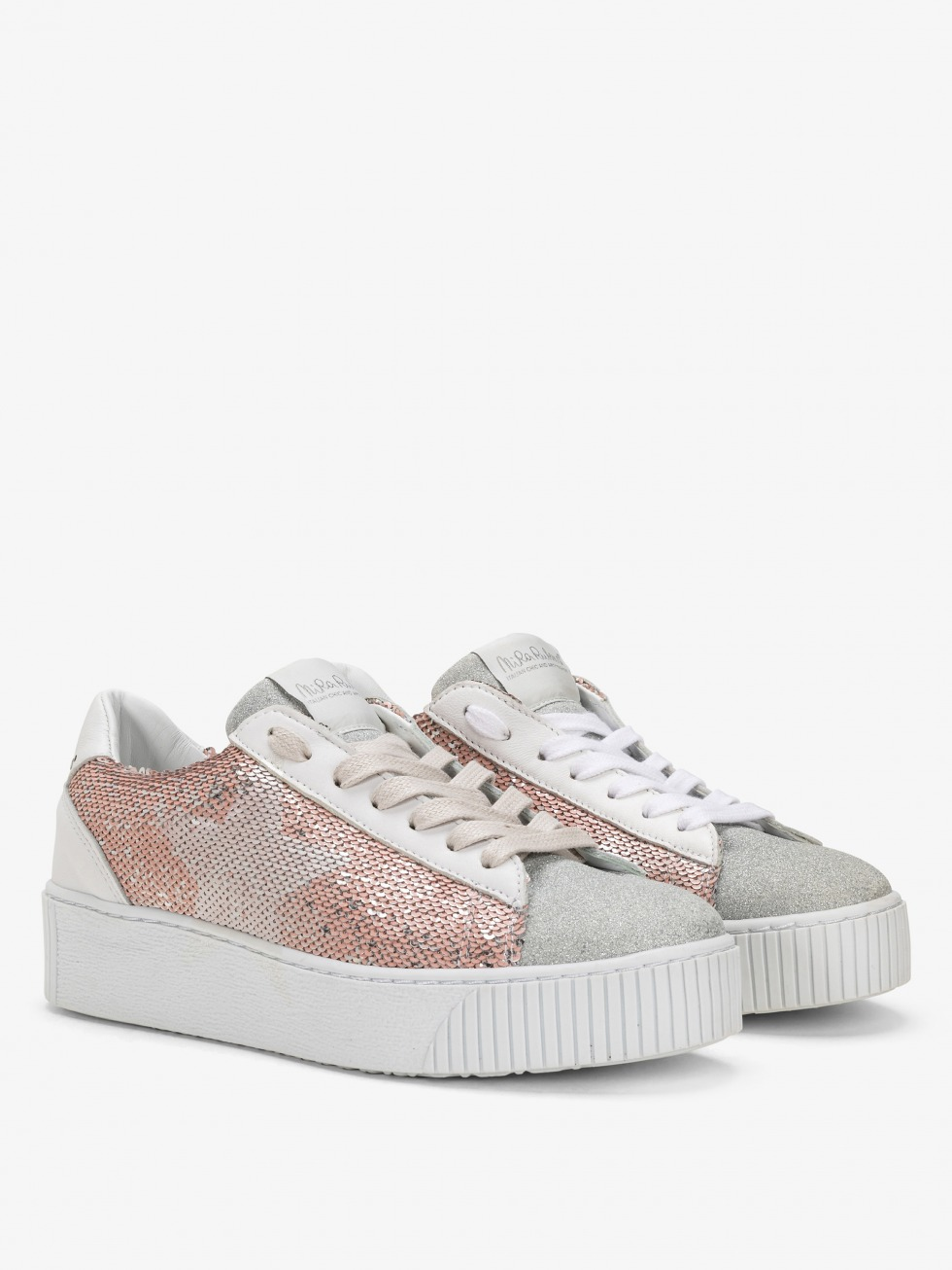 Cosmopolitan Sneakers - Sparkle Pink Star