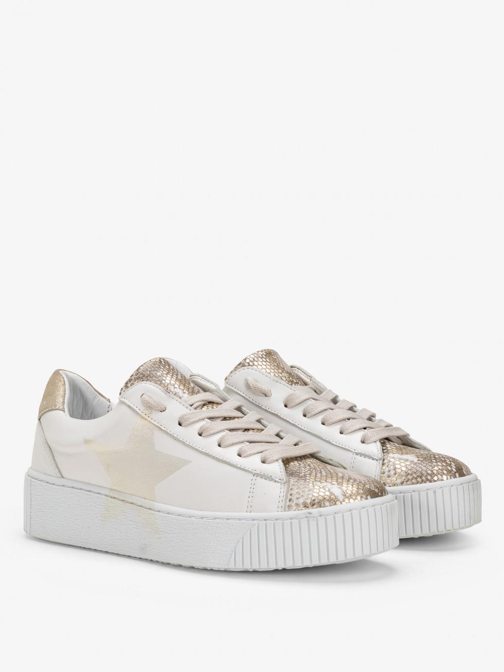 Cosmopolitan Sneakers - Phyton Gold Star