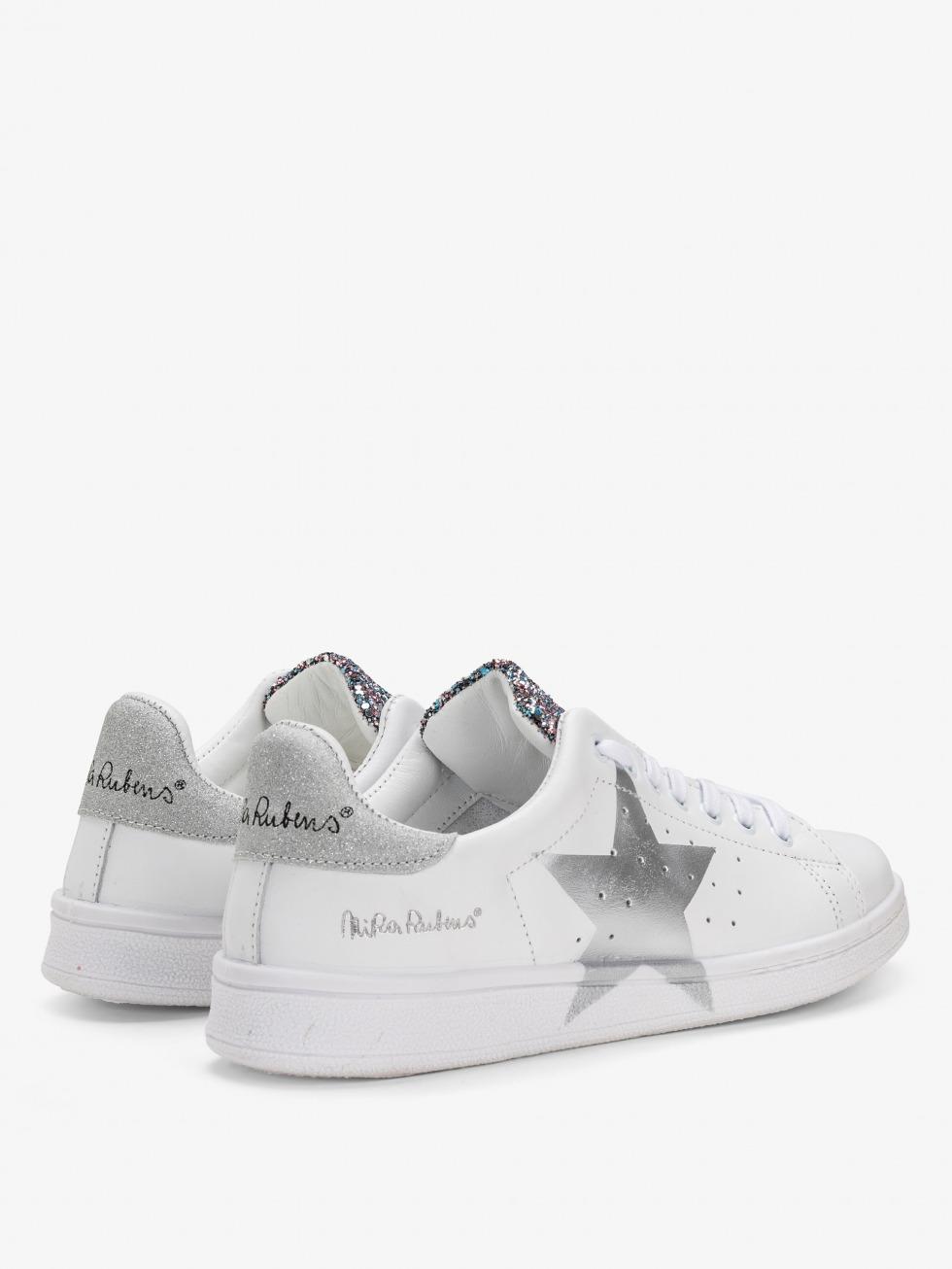 Daiquiri Sneakers - Shiny Silver Star