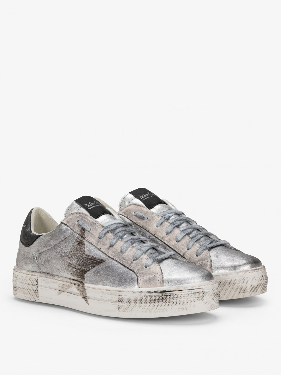 Vintage Martini Sneakers - Silver Star