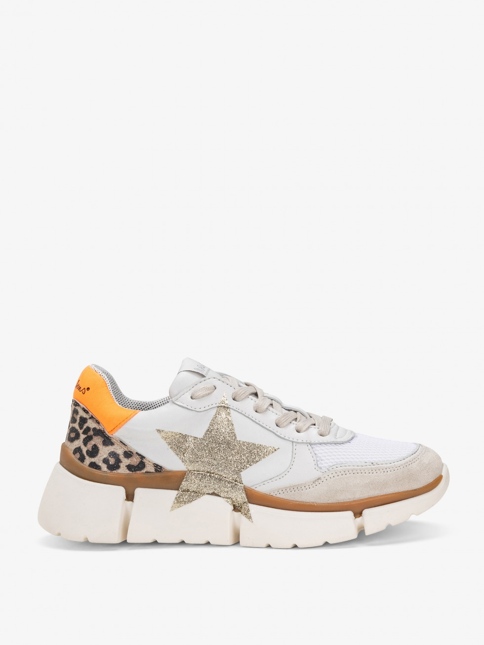 Stinger Chunky Sneakers - Jungle Neon Star