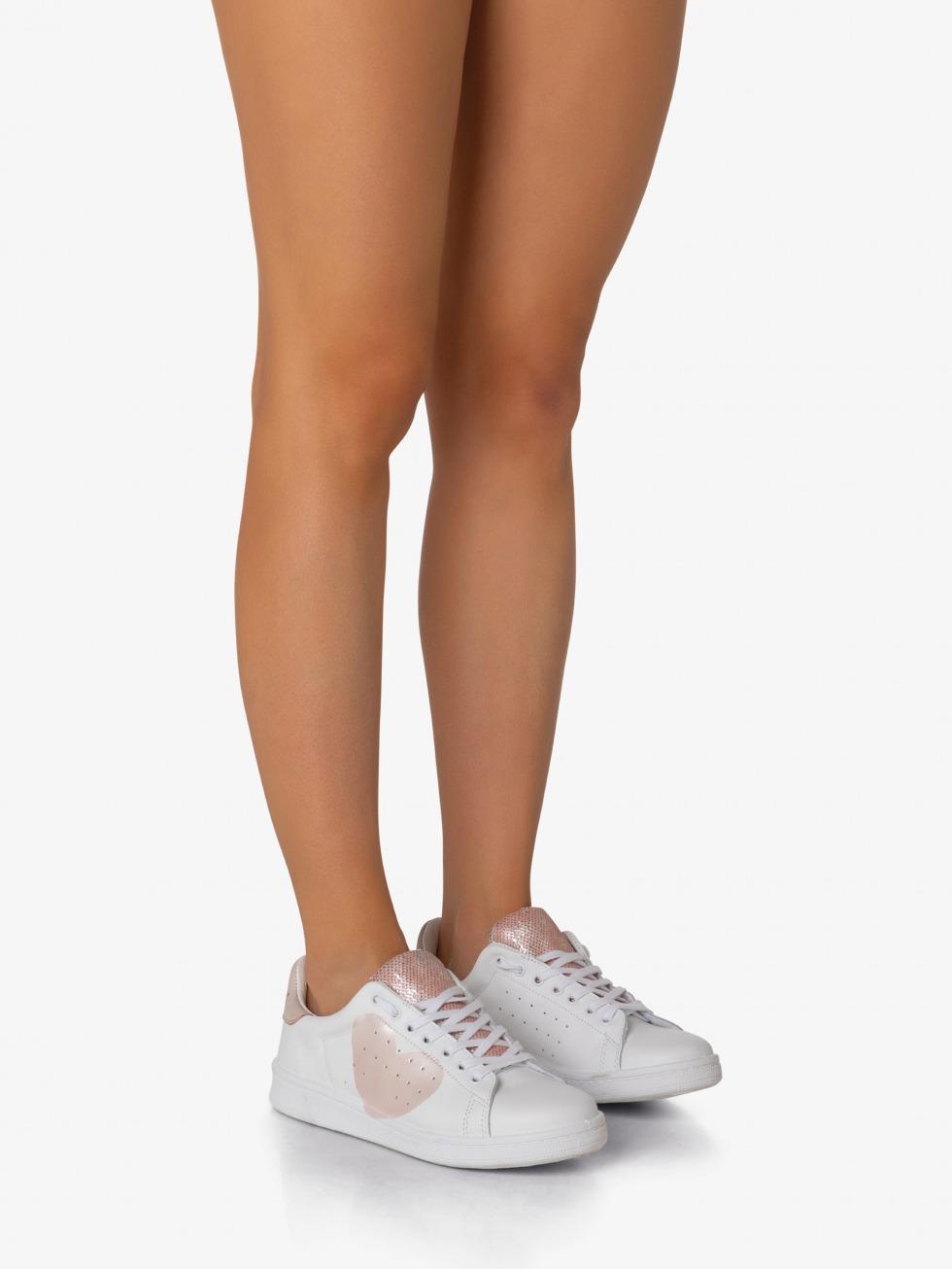 Daiquiri Sneakers - Sparkle Taffy Heart