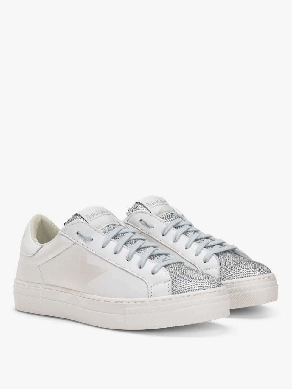 Martini Sneakers - Sparkle White Stella
