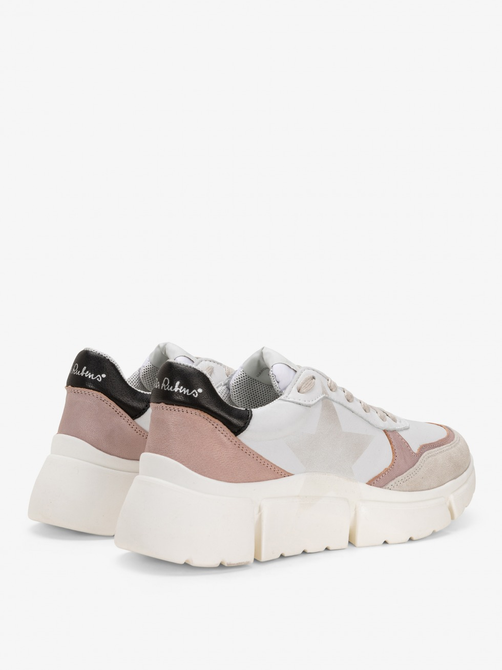Stinger Chunky Nude Sneakers - Star