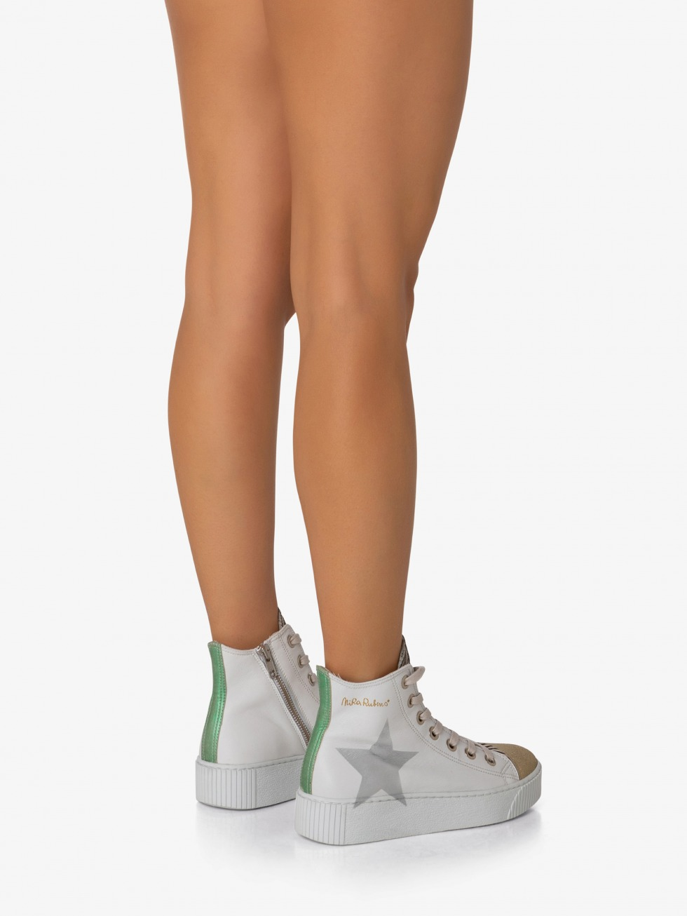 Long Island Sneakers - Emerald Gold Star