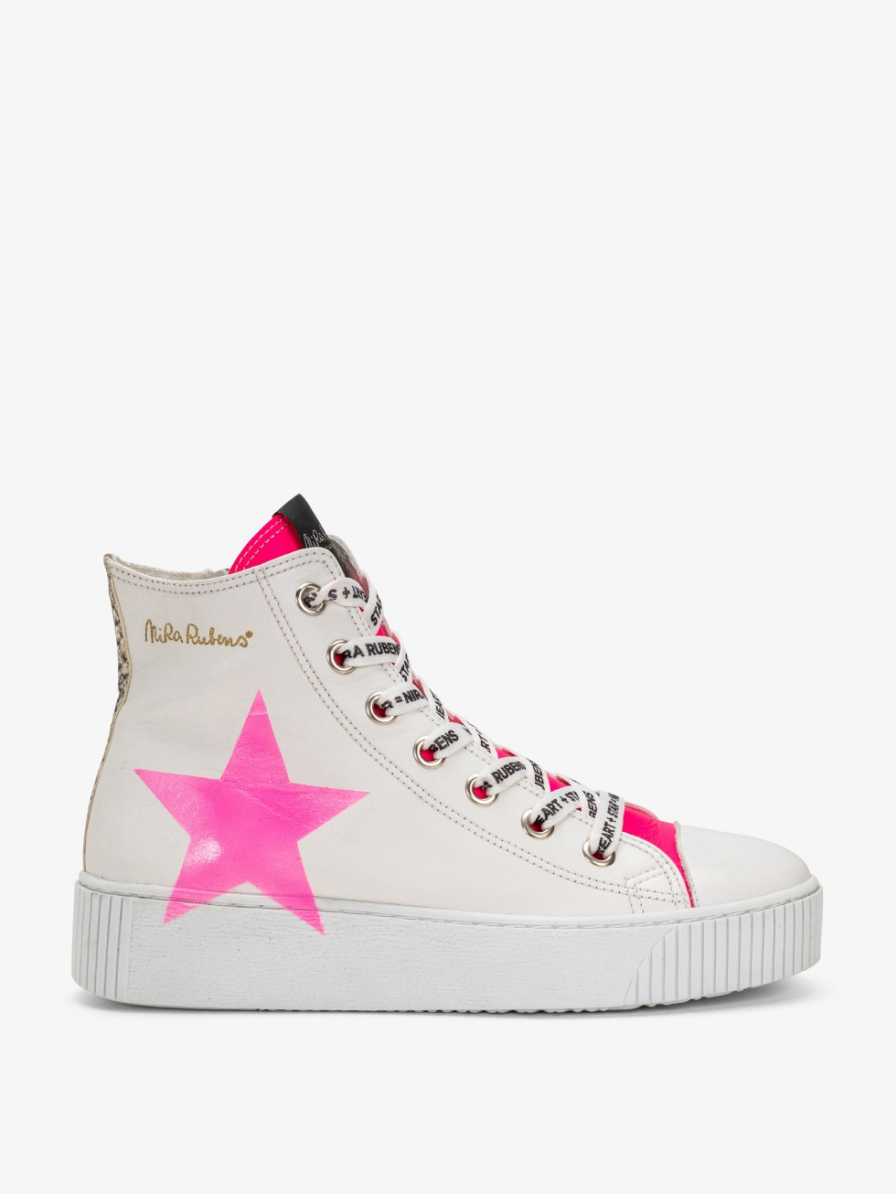 Long Island Sneakers - Neon Python Star