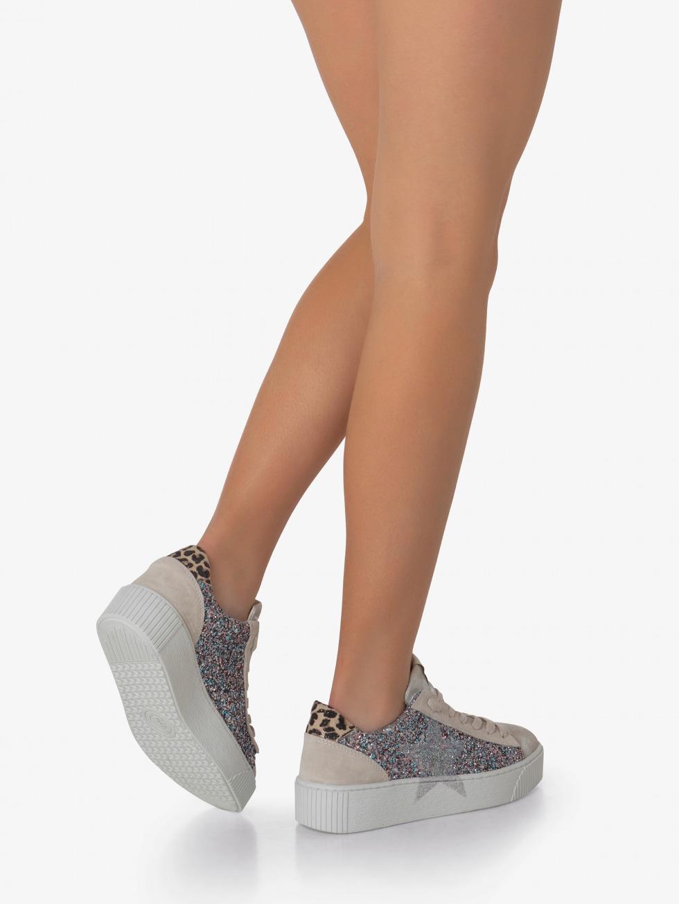 Cosmopolitan Glamour Sky Sneakers - Star