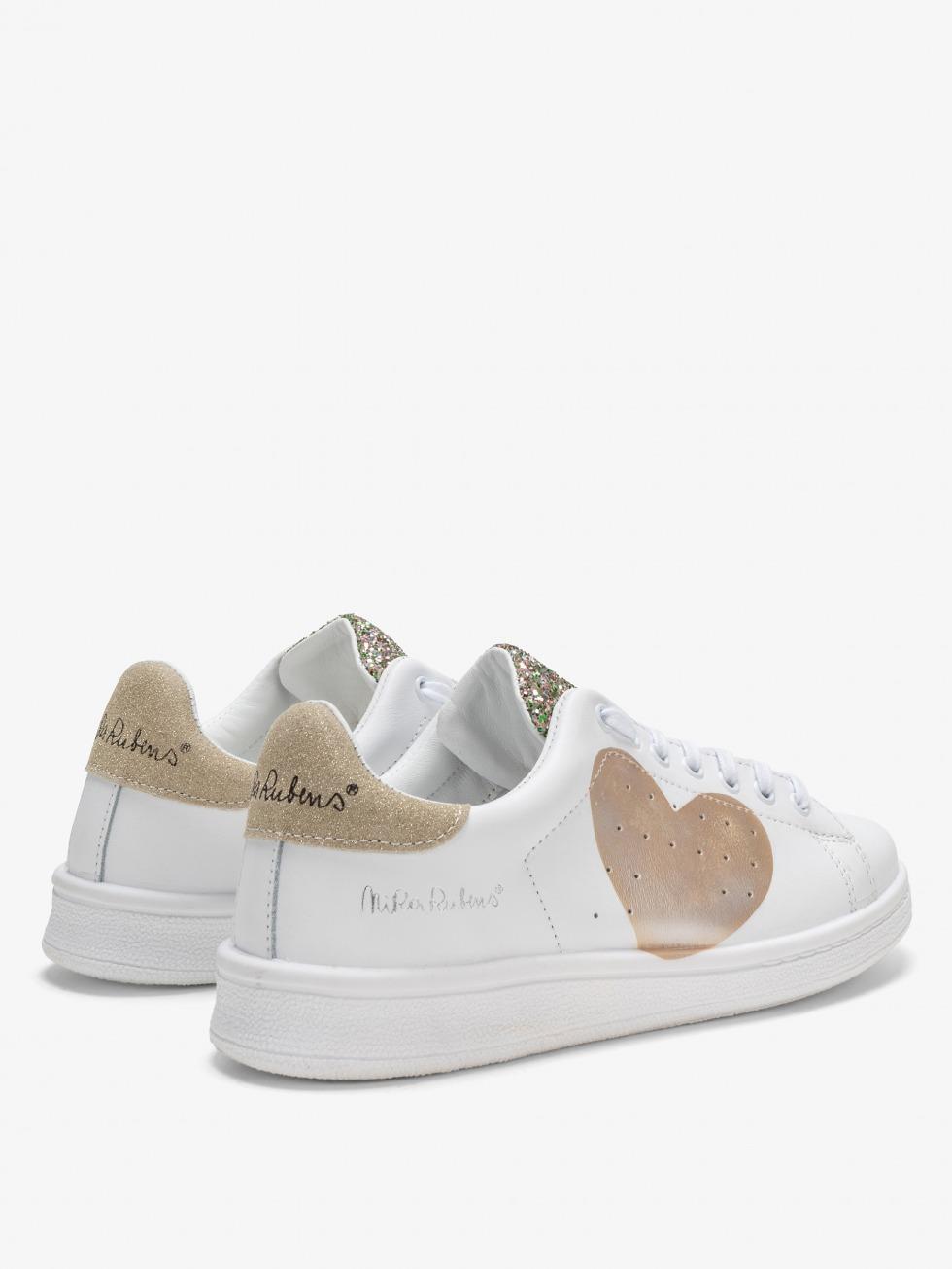 Sneakers Daiquiri - Cuore Shiny Gold