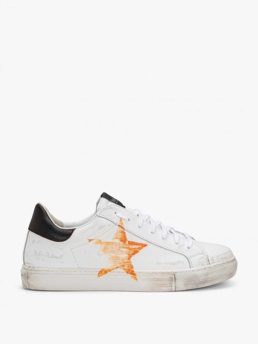 Martini M Sneakers Vintage City - Orange Star