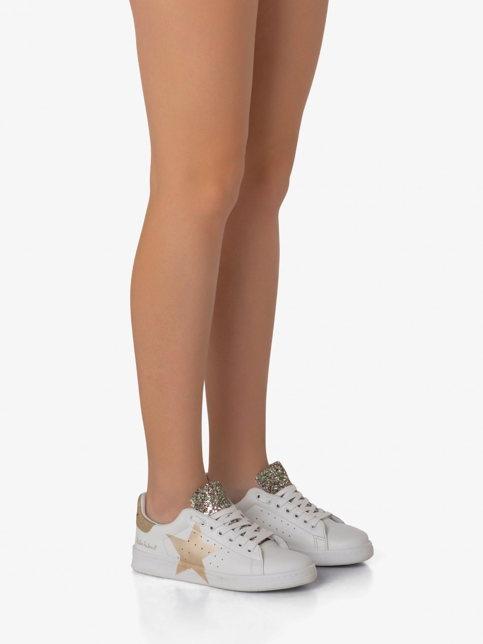 Daiquiri Sneakers - Shiny Gold Star