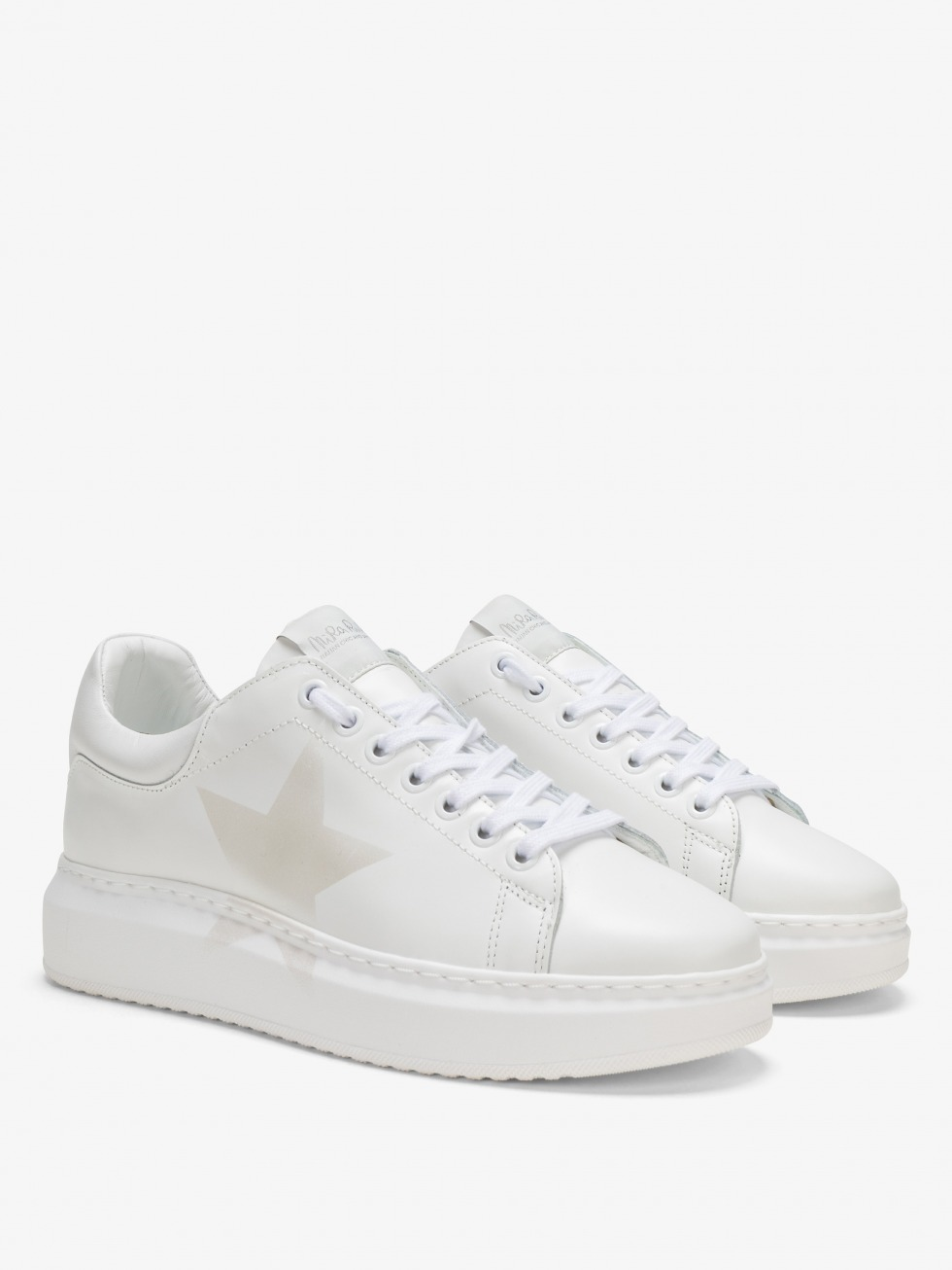Angel Sneakers Total White - Star