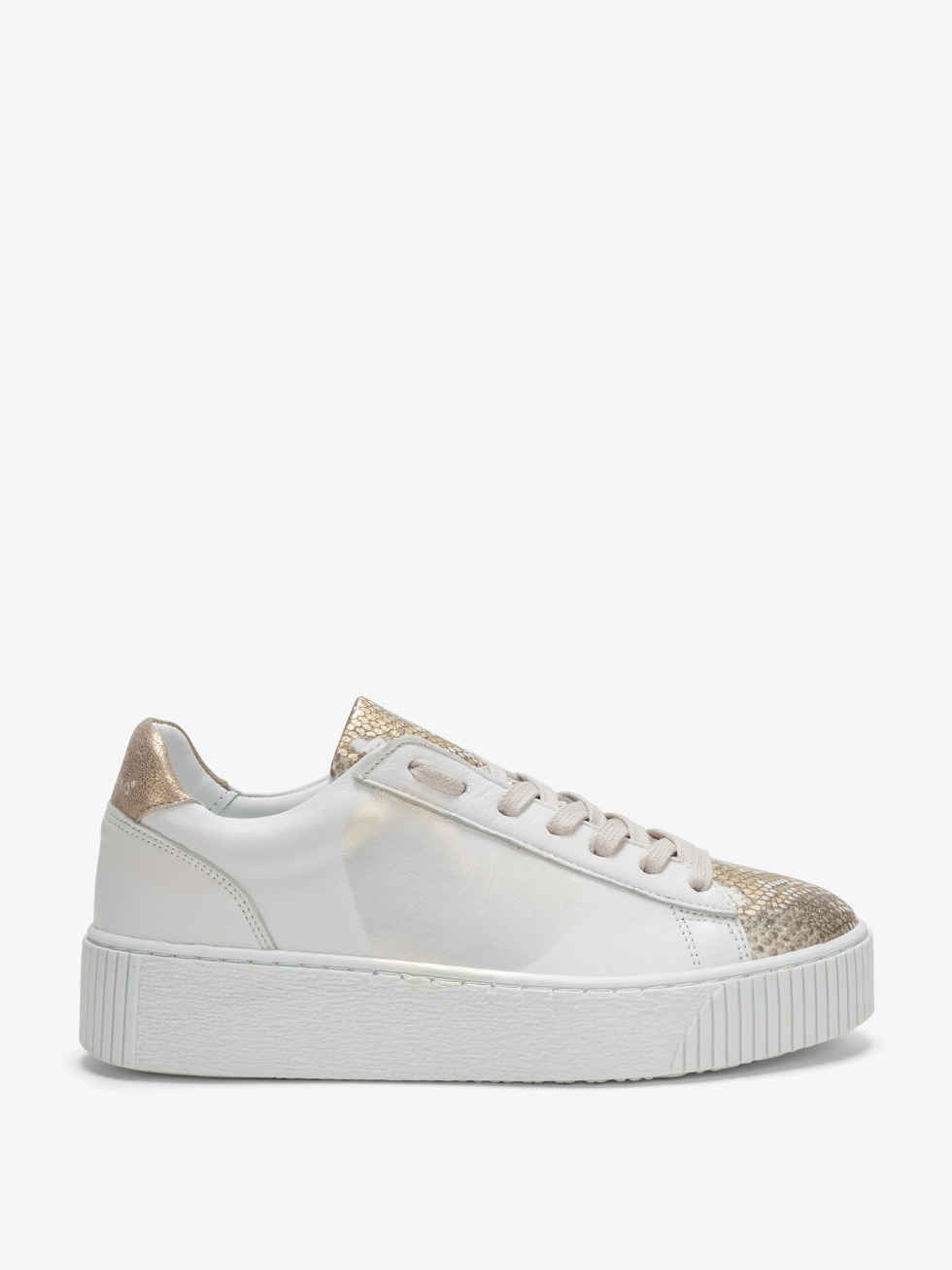 Cosmopolitan Sneakers - Phyton Gold Heart