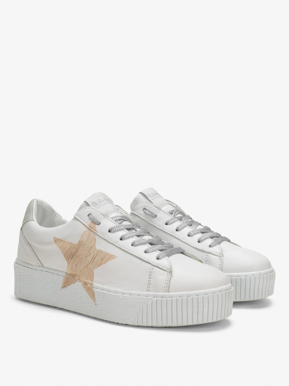 Cosmopolitan Sneakers Luxury Silver - Star
