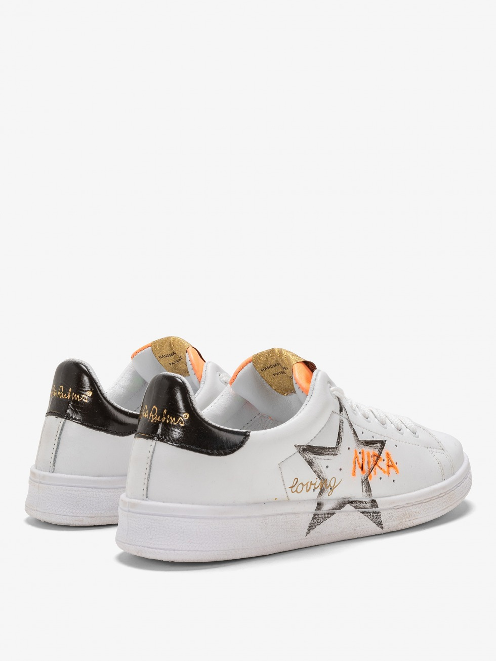 Daiquiri Sneakers - Black Fluo Star