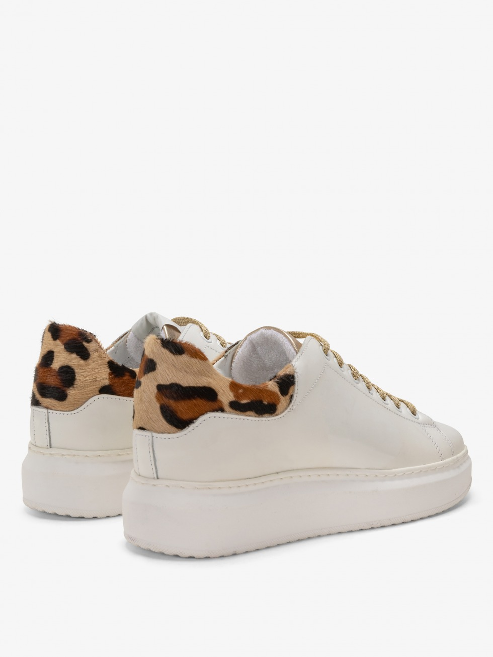 Angel Sneakers - Africa Gold Heart