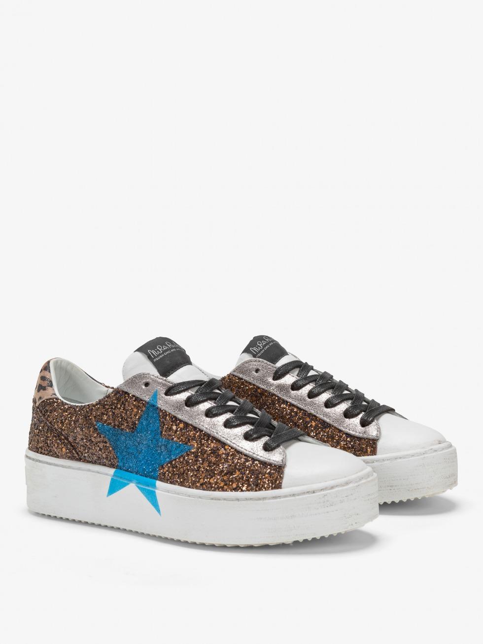 Cosmopolitan Leo Bronze Sneakers - Sky Star