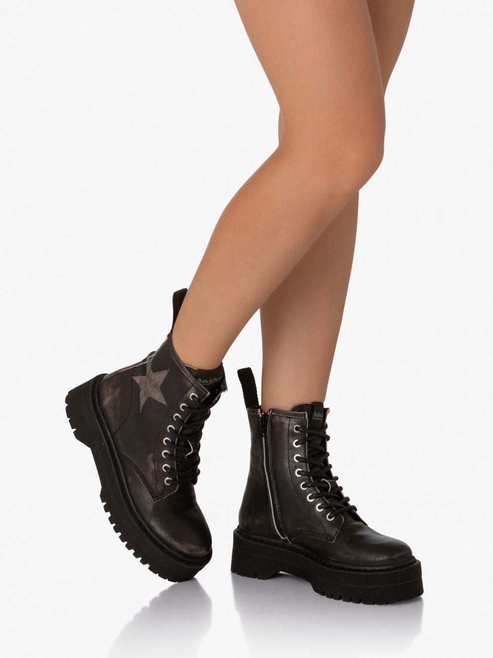 Bloody Mary Top Boots - Storm Star