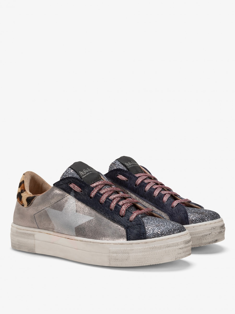 Martini Cielo Club Sneakers - Mother Of Pearl Star