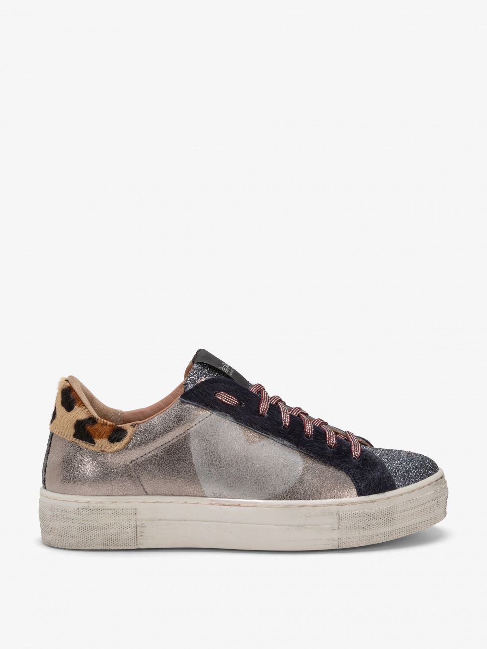 Martini Cielo Club Sneakers - Mother Of Pearl Heart