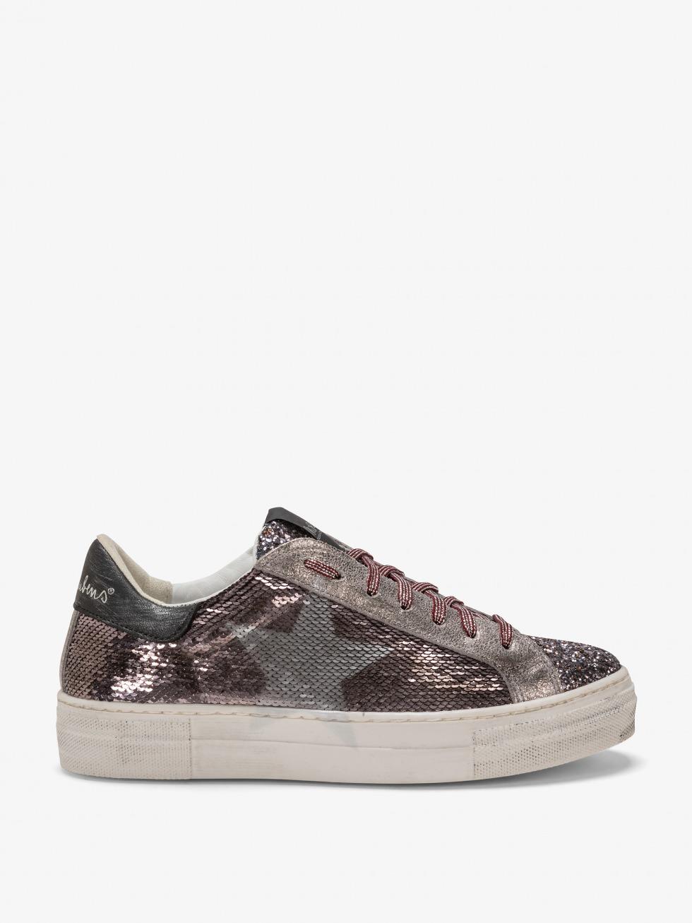 Martini Sparkle Sneakers - Grey Star