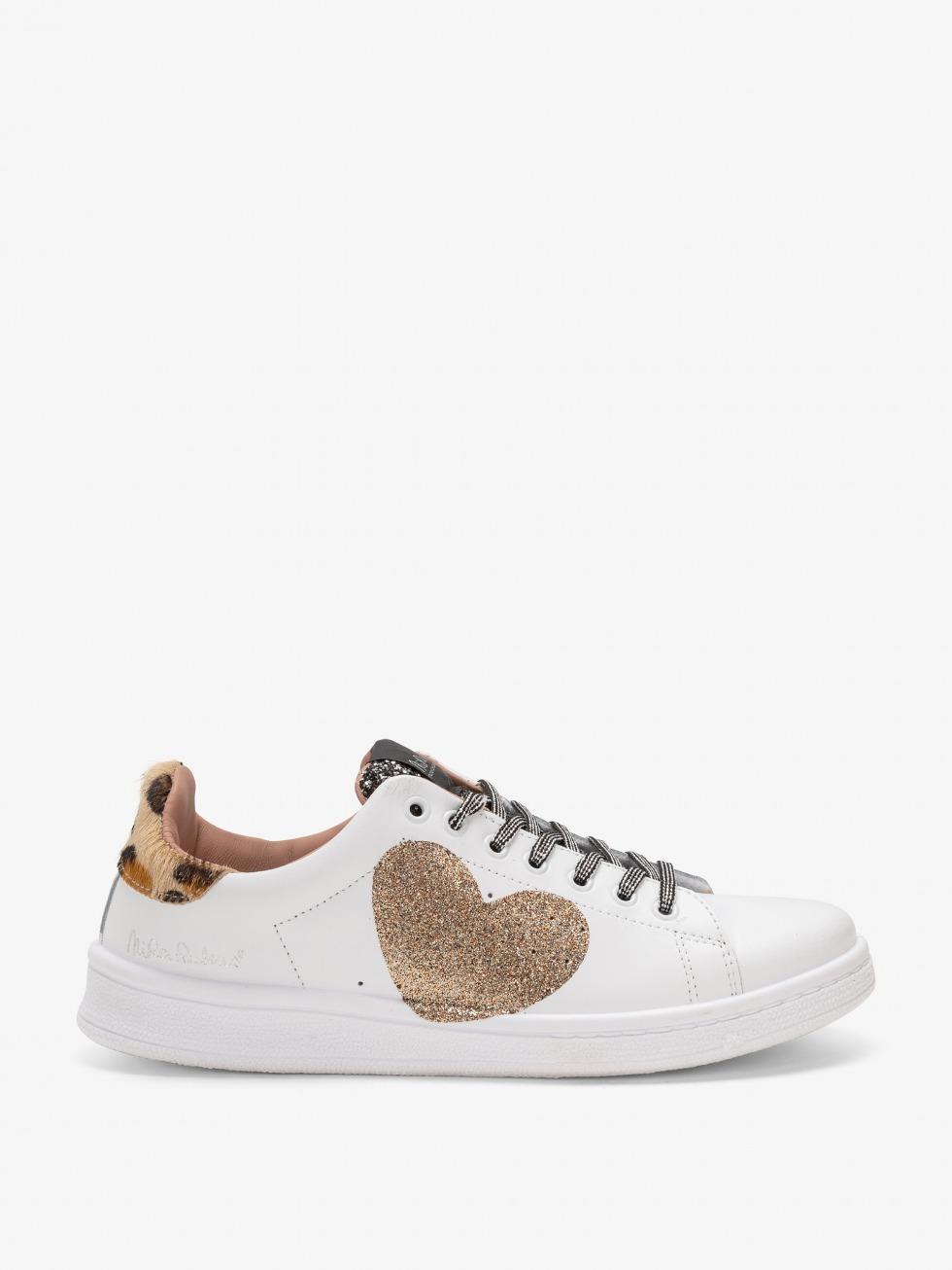 Daiquiri Africa Sneakers - Gold Heart