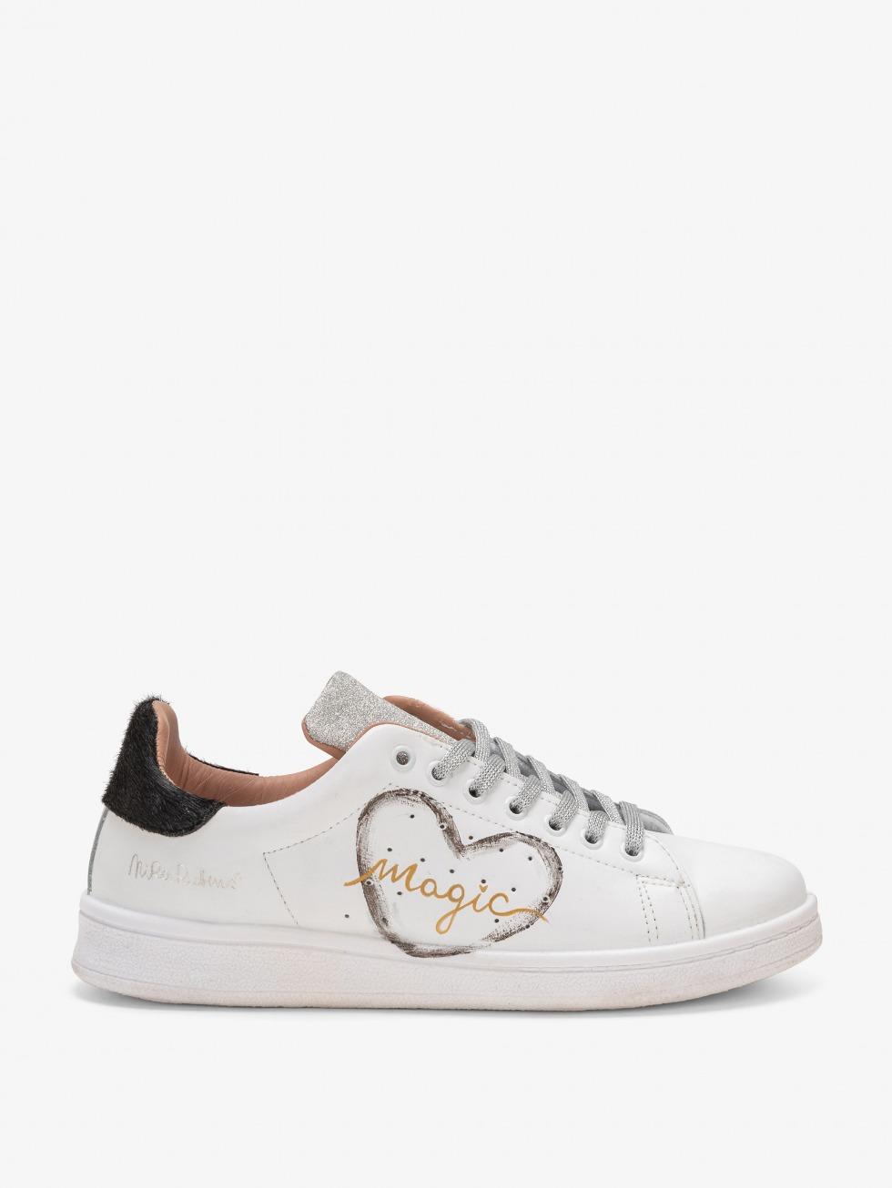 Sneakers Daiquiri Shine Black - Cuore