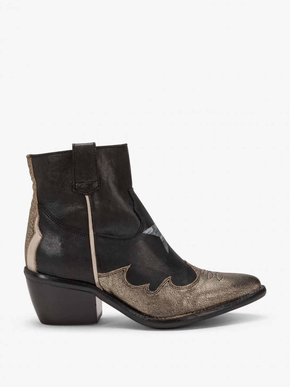 Ankle boot Margarita - Star Las Vegas Gold