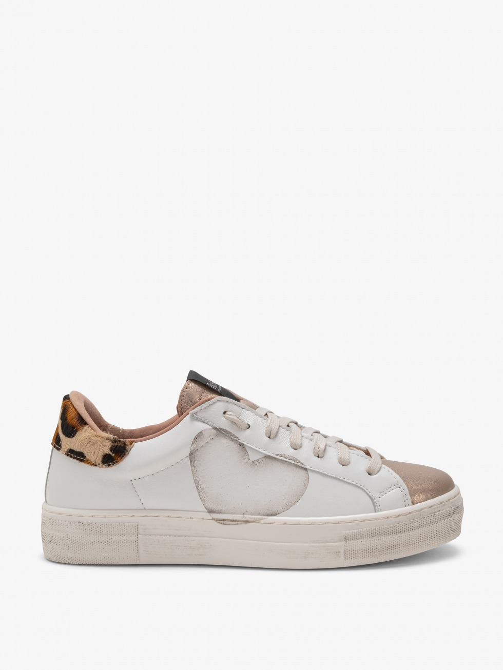 Martini Africa Gold Sneakers - Heart