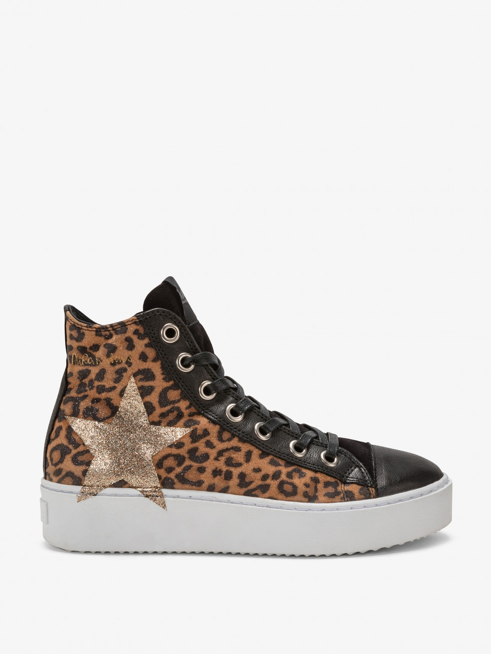 Long Island Sneakers - Glitter Leo Star
