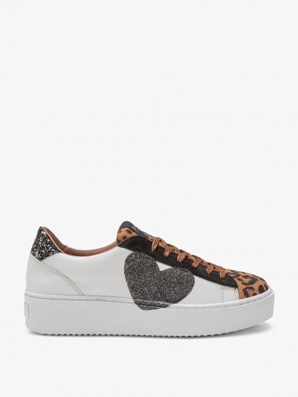 Cosmopolitan Shine Leo Sneakers - Glitter Heart