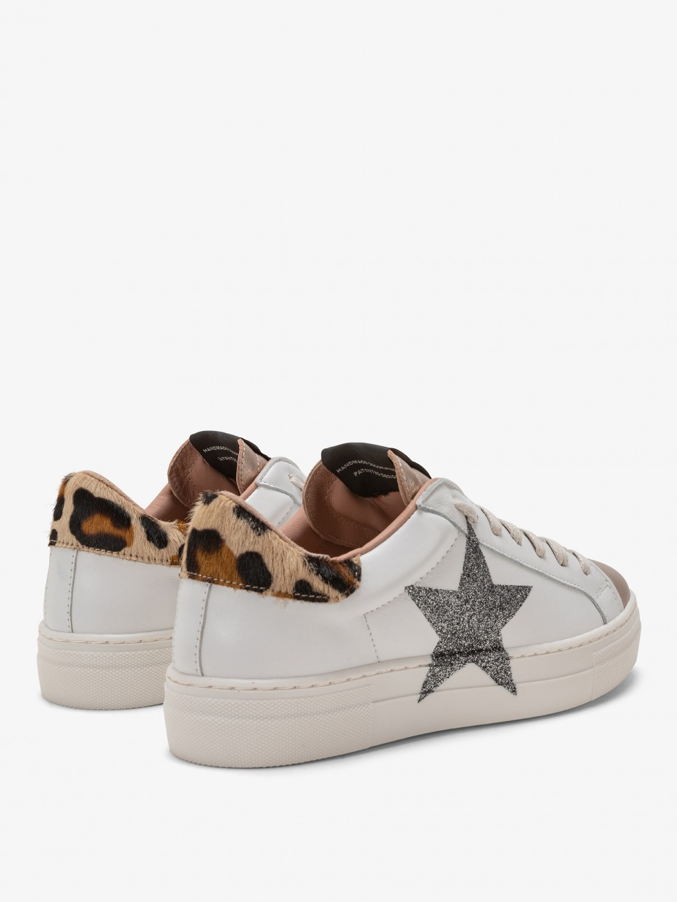Martini Africa Gold Sneakers - Glitter Star