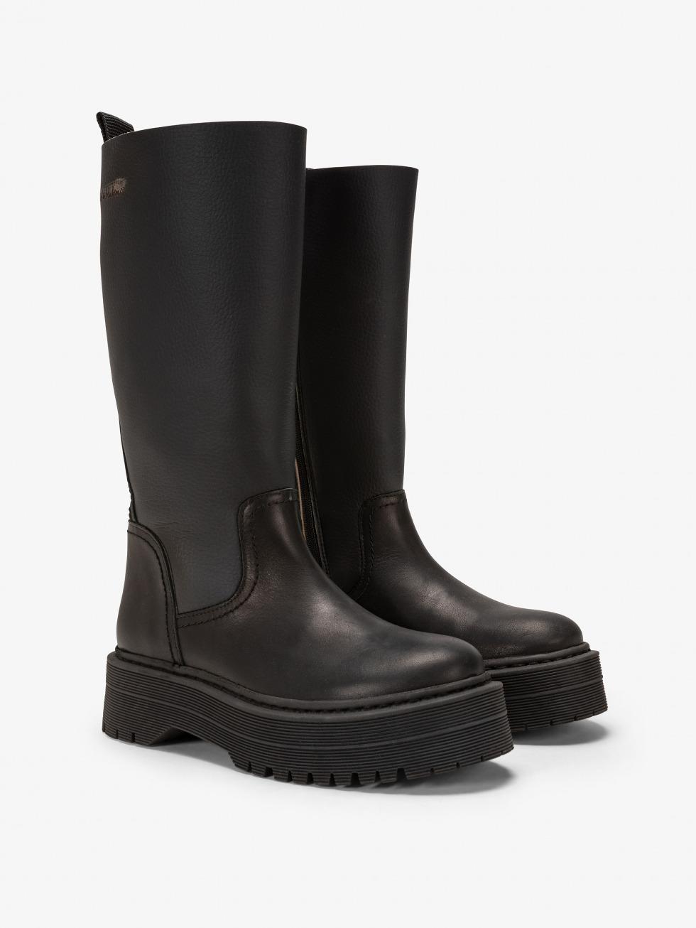 Frozen Top Boot - Rebel Black Sand