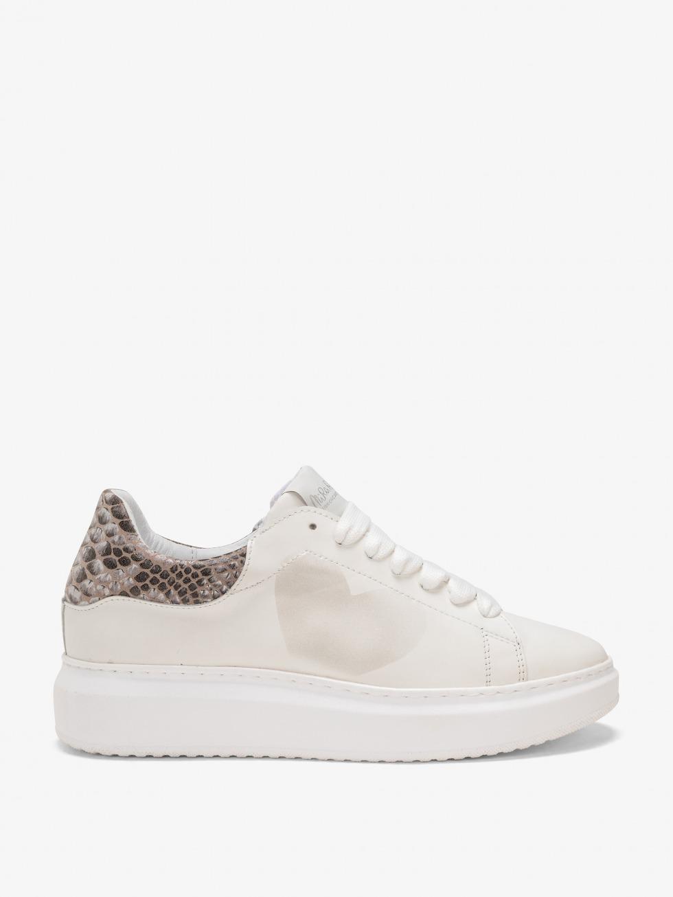 Angel Sneakers Royal Python - Heart