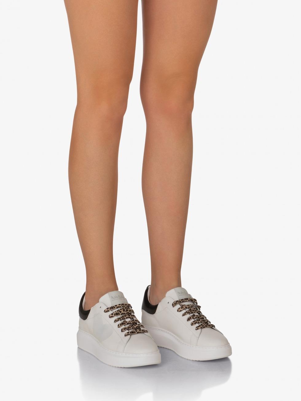 Angel Sneakers Leopard - Heart