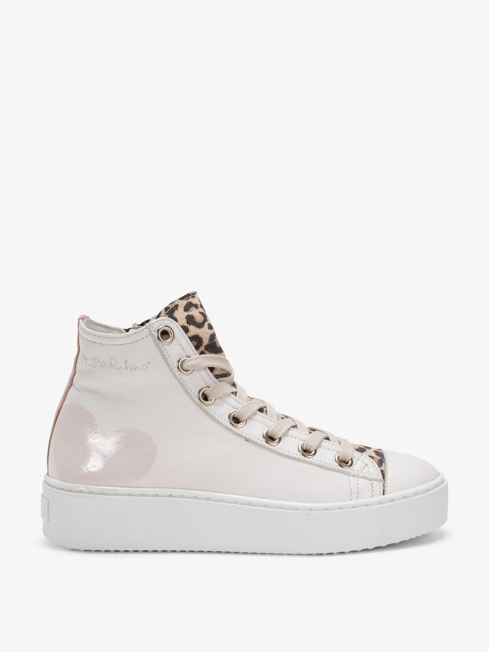 Long Island Sneakers Leo Pearl - Heart