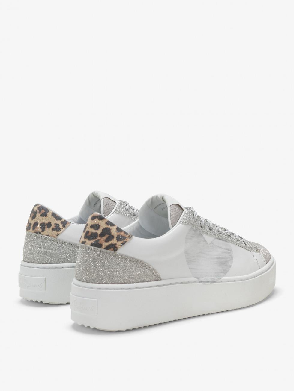 Cosmopolitan Sneakers Safari Shine - Heart