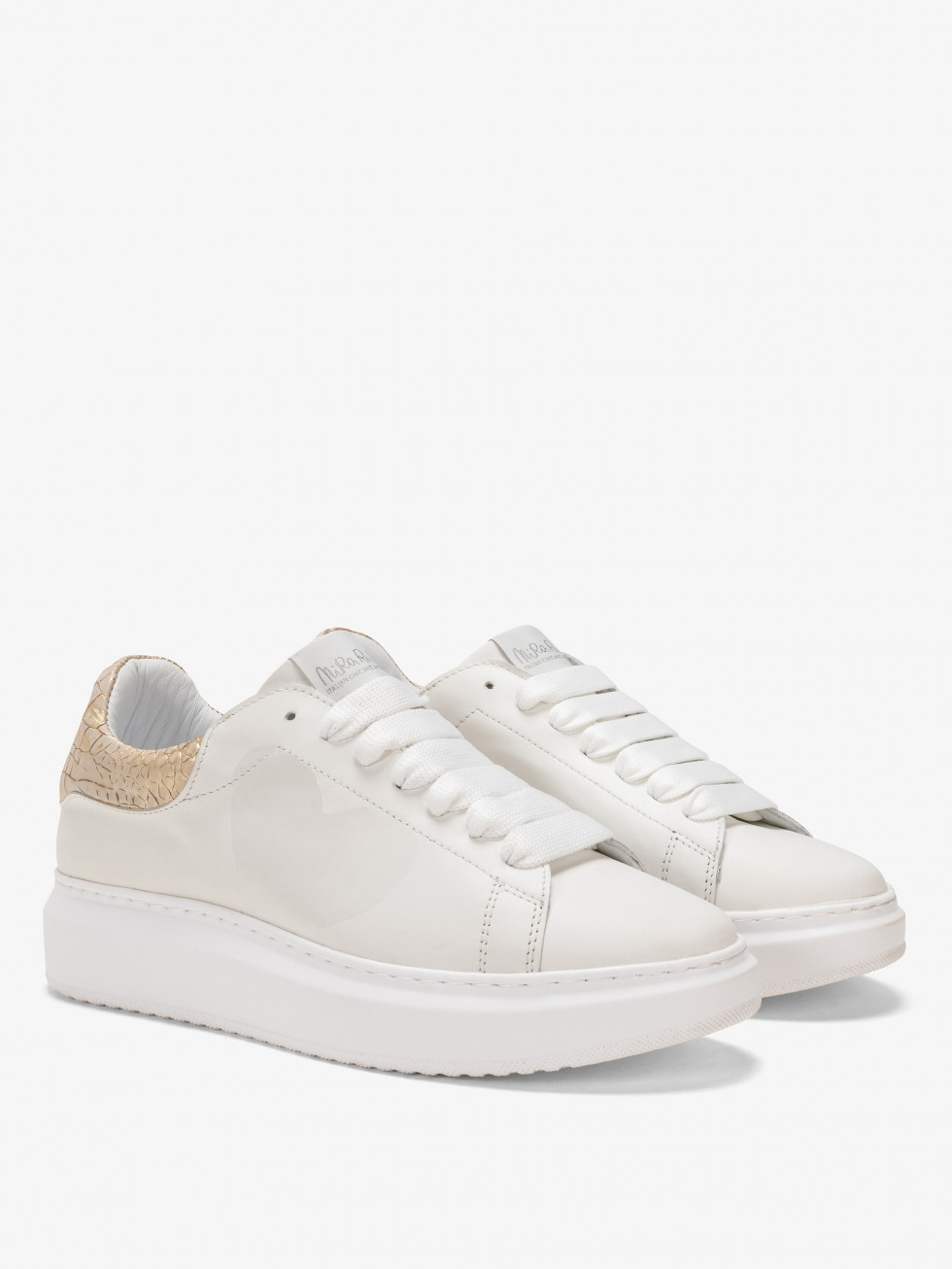 Angel Sneakers Cocco Gold - Heart