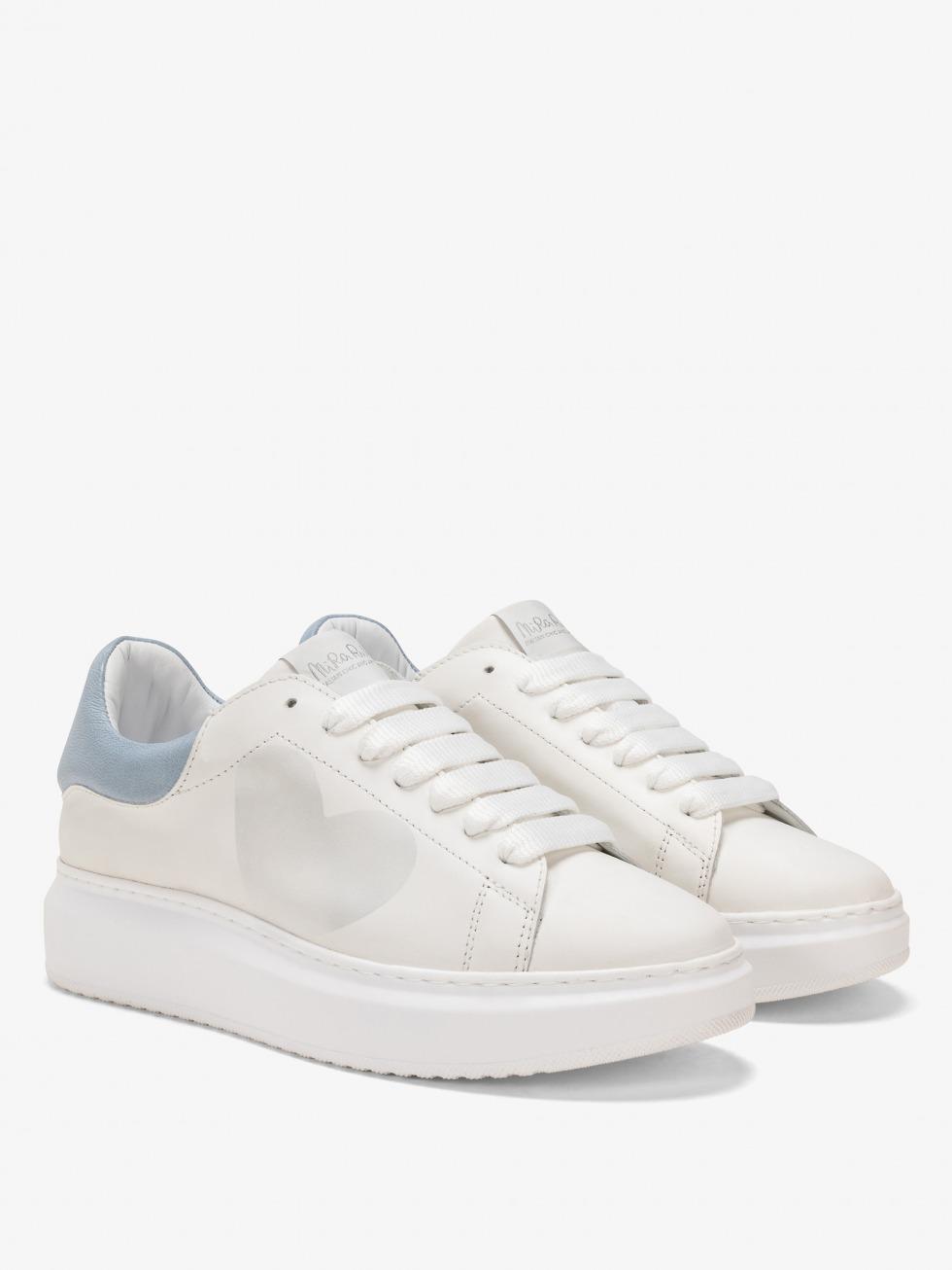 Angel Sneakers Denim - Heart