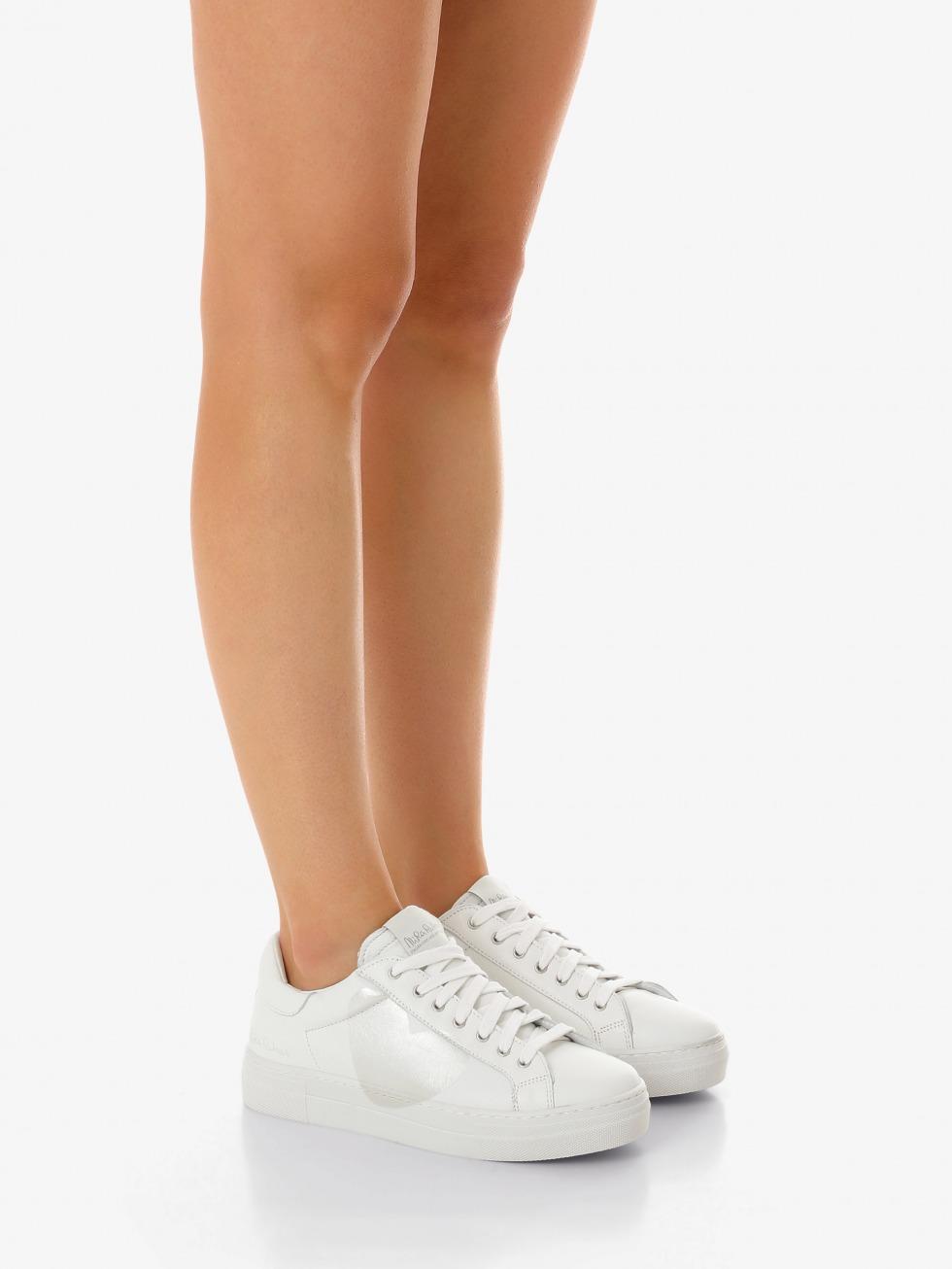 Sneakers Martini Bianco - Cuore Madreperla