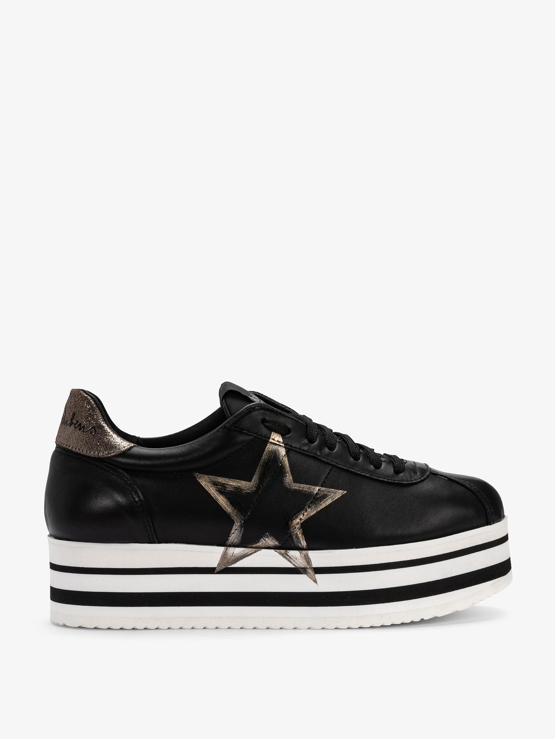 Platform Laterale Nere Con Sneakers Stella X7pq0wX8x